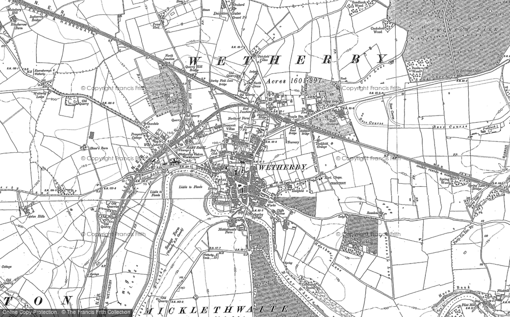 Wetherby, 1891 - 1892