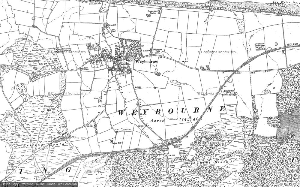 Weybourne, 1901 - 1906