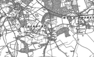 Old Map of Whaddon, 1924