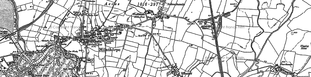 Old map of Whasset in 1897
