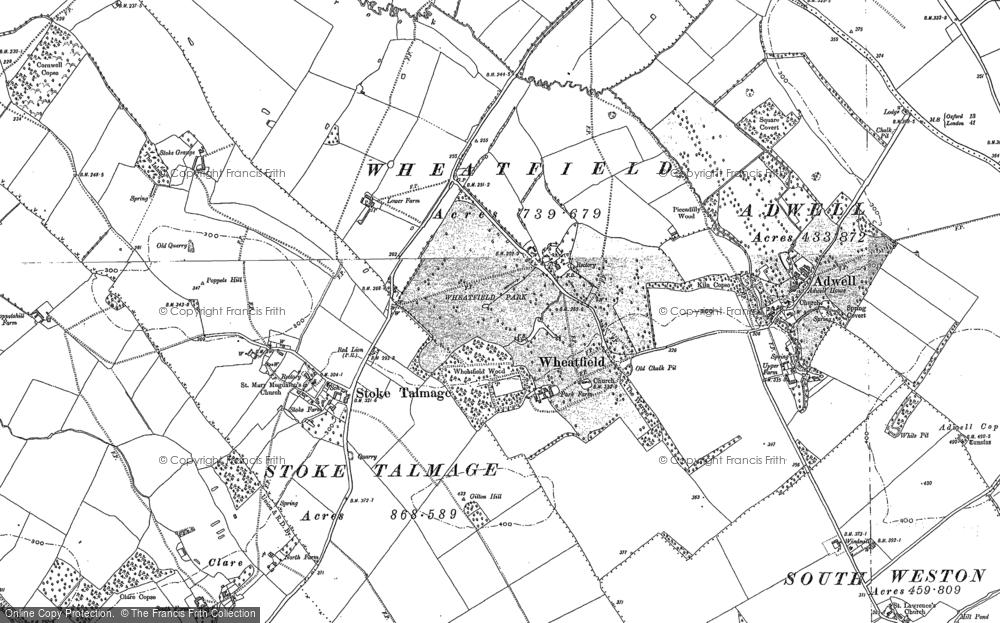 Wheatfield, 1897 - 1919