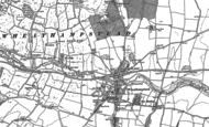 Old Map of Wheathampstead, 1897 - 1899