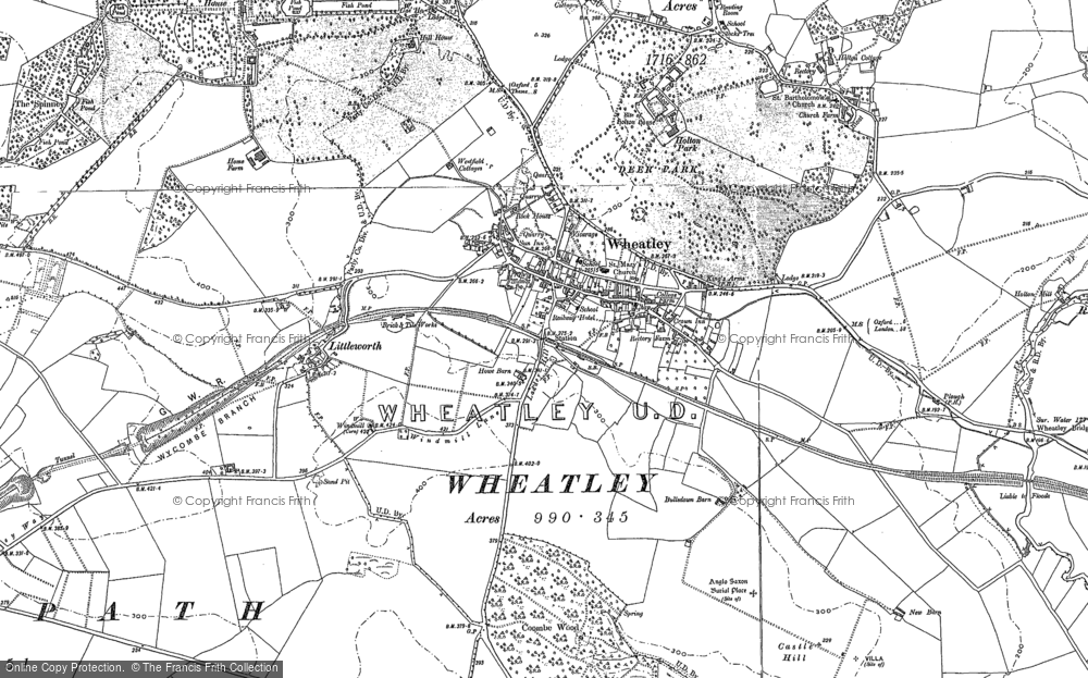 Map of Wheatley, 1897 - 1919