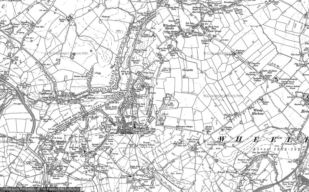 Wheelton, 1893