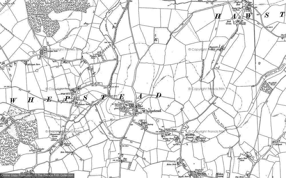 Whepstead, 1884