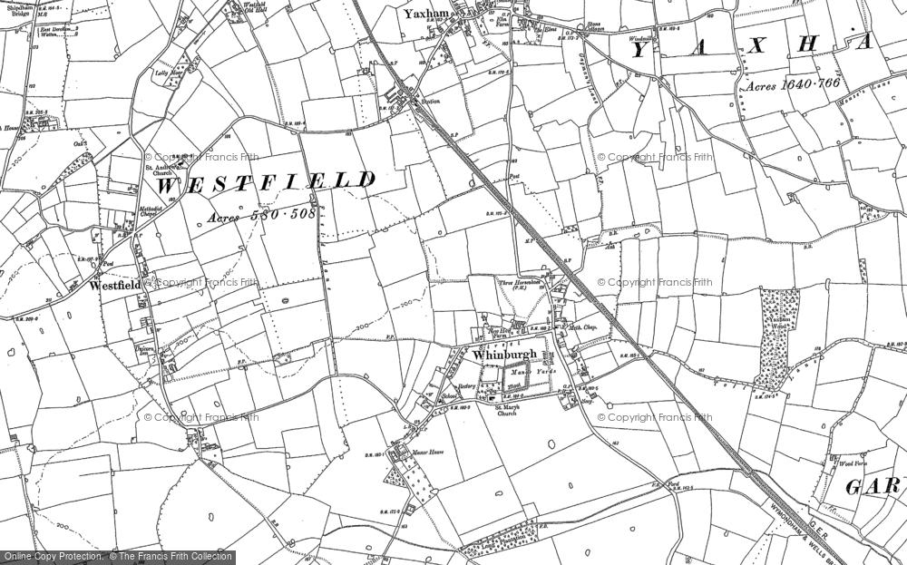 Whinburgh, 1882 - 1886
