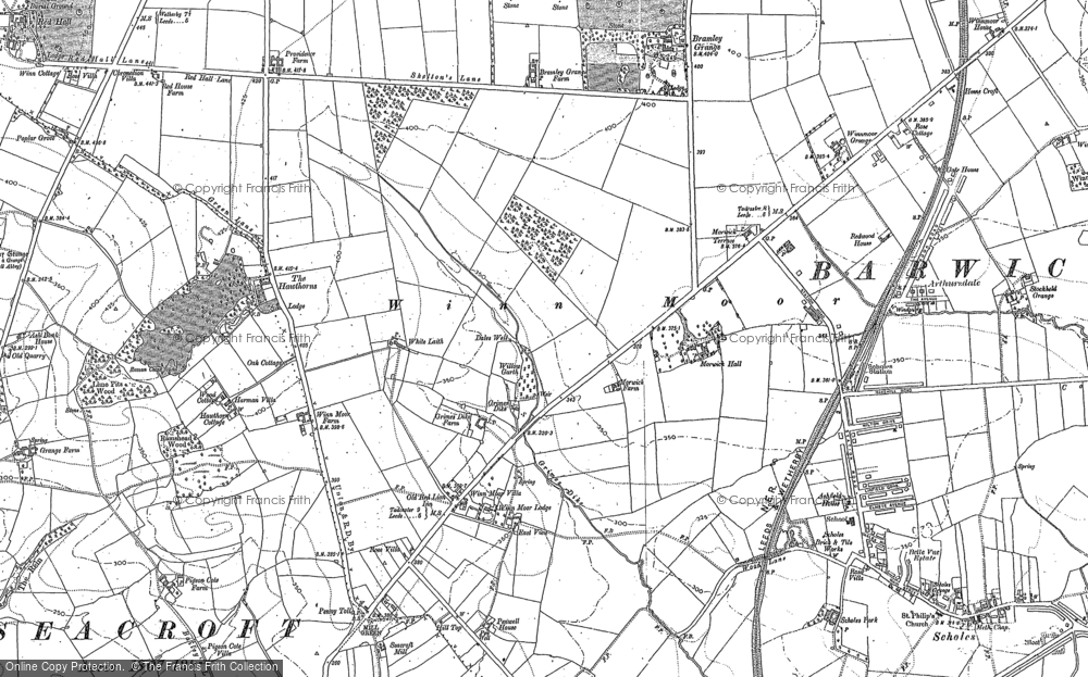 Whinmoor, 1891 - 1892