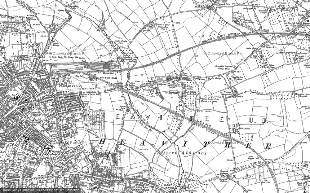 Whipton, 1887 - 1888