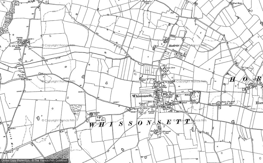 Whissonsett, 1885
