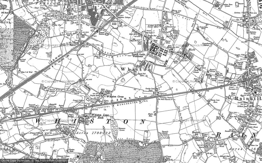 Whiston, 1891