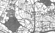 Old Map of Whitacre Heath, 1886