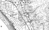Old Map of Whitbeck, 1922 - 1924