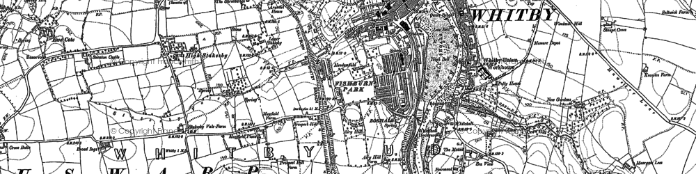 Old map of Airy Hill in 1892