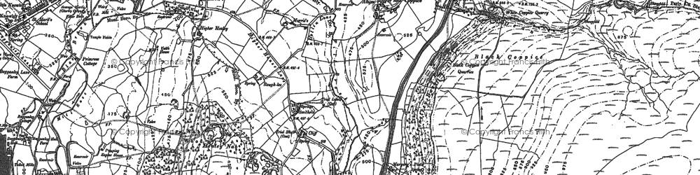 Old map of Limbrick in 1892