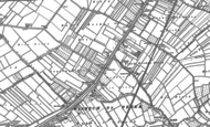 Old Map of White Hall, 1900
