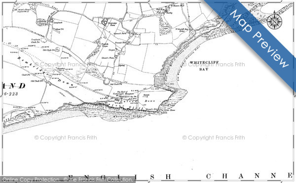 Historic map of Bembridge Boarding Campus