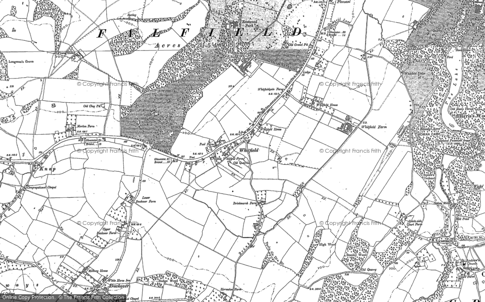 Whitfield, 1880 - 1881