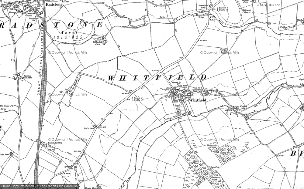 Whitfield, 1883 - 1898