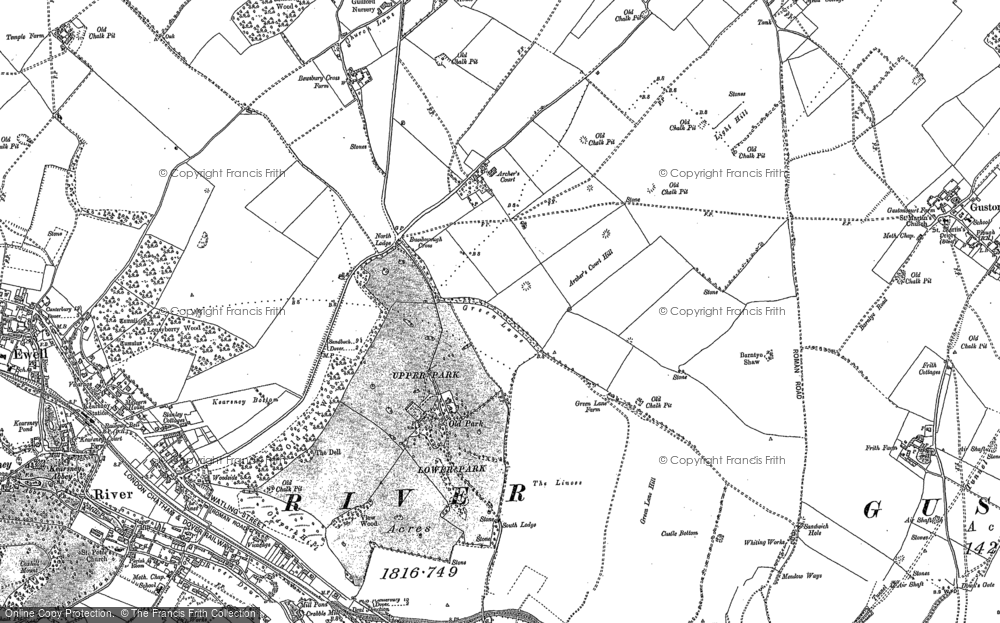 Whitfield, 1896 - 1906