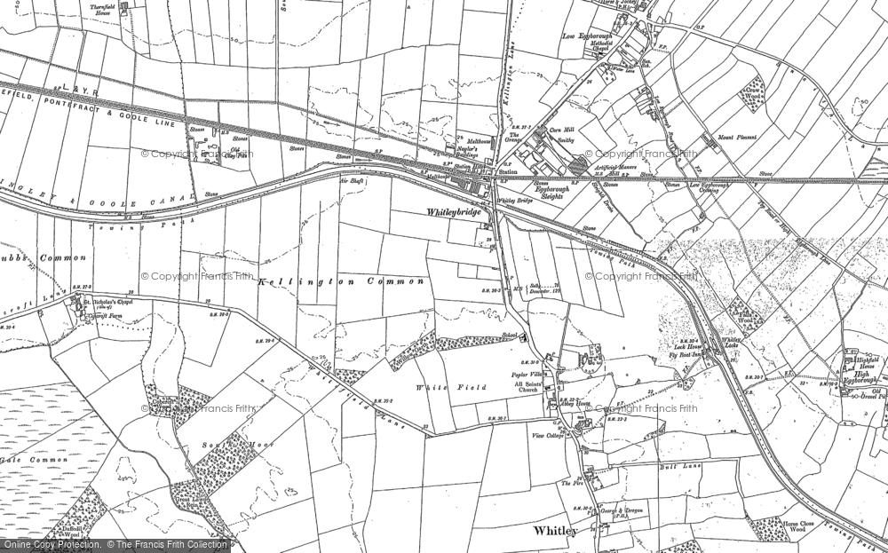 Whitley Bridge, 1888 - 1890