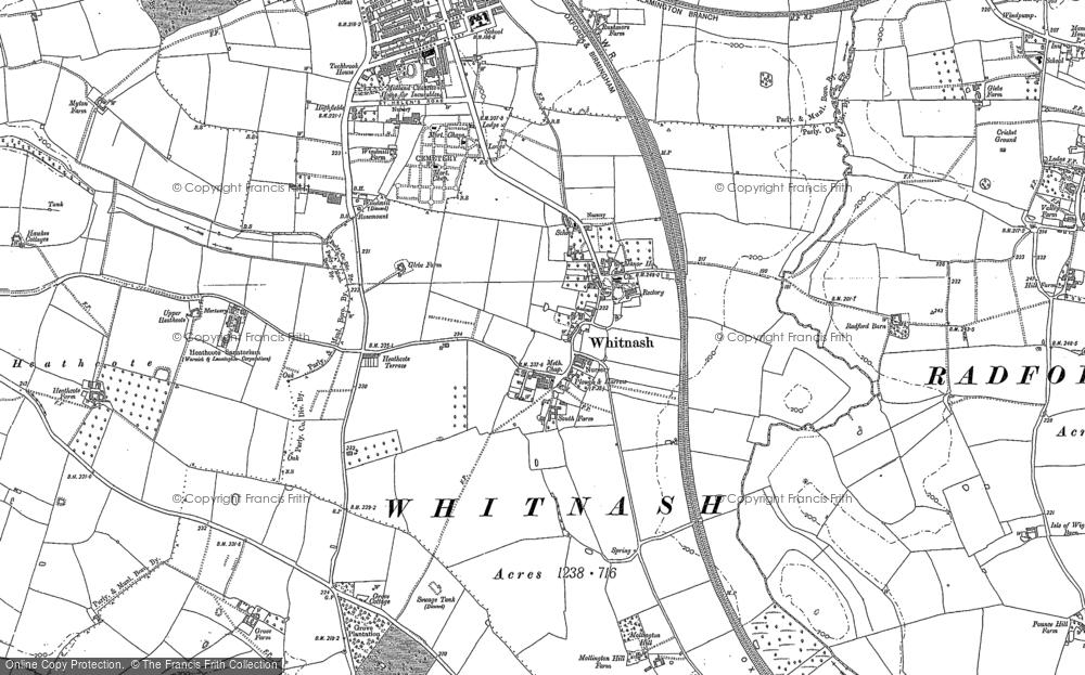 Whitnash, 1885 - 1886