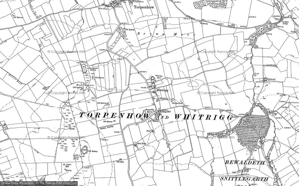 Whitrigg, 1899