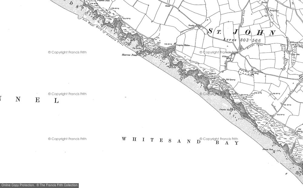 Whitsand Bay, 1905