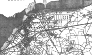 Old Map of Whitstable, 1896 - 1906