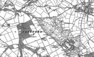 Old Map of Whittington Heath, 1883 - 1900