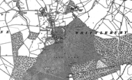 Old Map of Whittlebury, 1883
