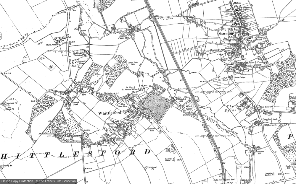 Whittlesford, 1885
