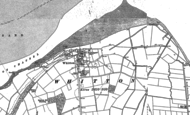 Old Map of Whitton, 1886 - 1906