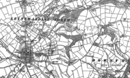 Old Map of Whitton, 1902