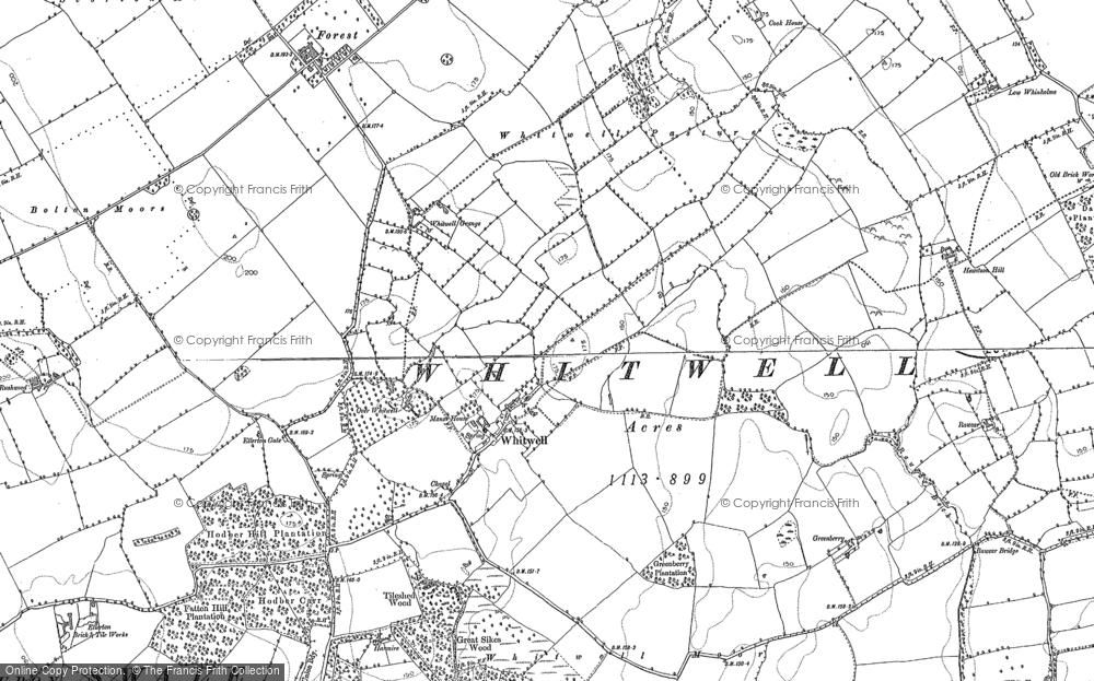 Whitwell, 1891