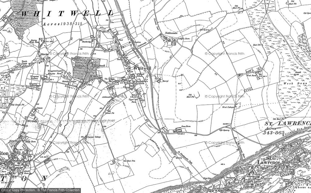 Whitwell, 1906 - 1907