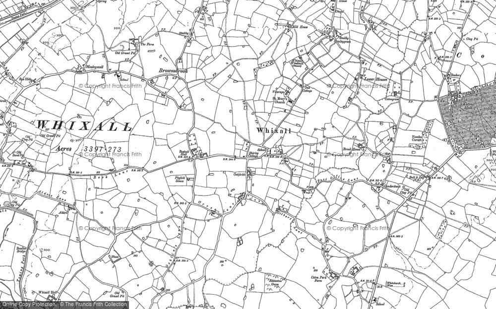 Whixall, 1880 - 1899