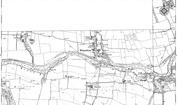 Old Map of Whorlton, 1912