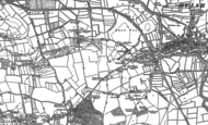 Old Map of Wick, 1886