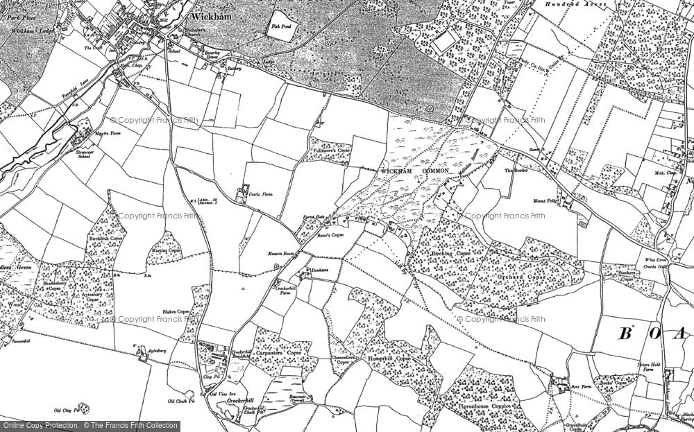 Wickham Common, 1895