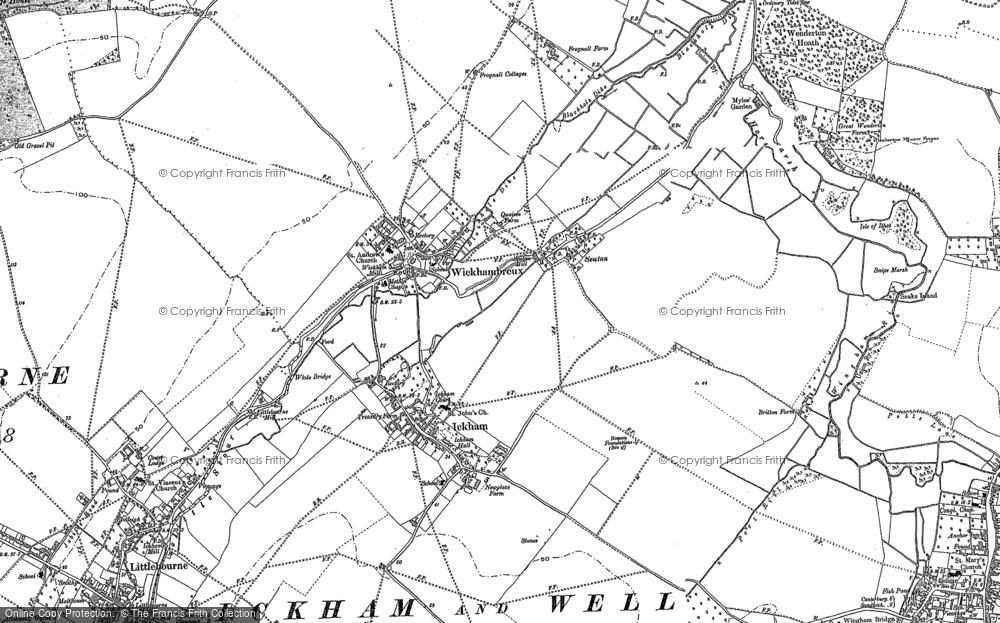 Wickhambreaux, 1896