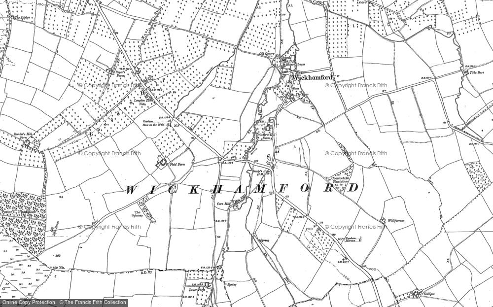 Wickhamford, 1880 - 1900