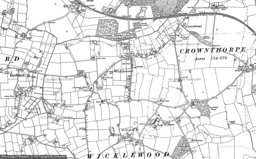 Wicklewood, 1882