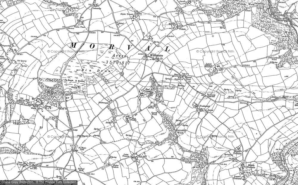 Widegates, 1881 - 1882
