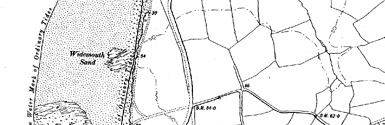 Old map of Box's Shop centred on your home