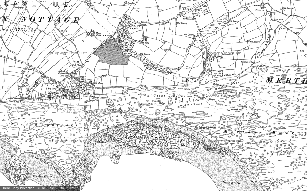 Old Map of Wig Fach, 1897 - 1914 in 1897