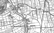Old Map of Wiggenhall St Peter, 1884 - 1886
