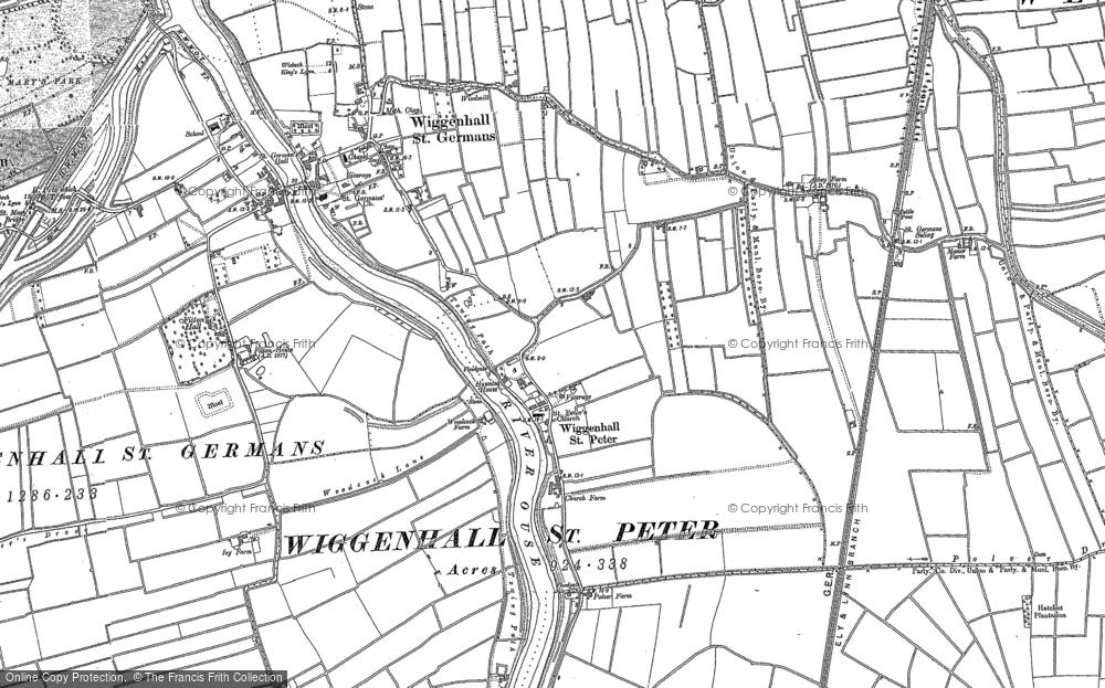 Wiggenhall St Peter, 1884 - 1886