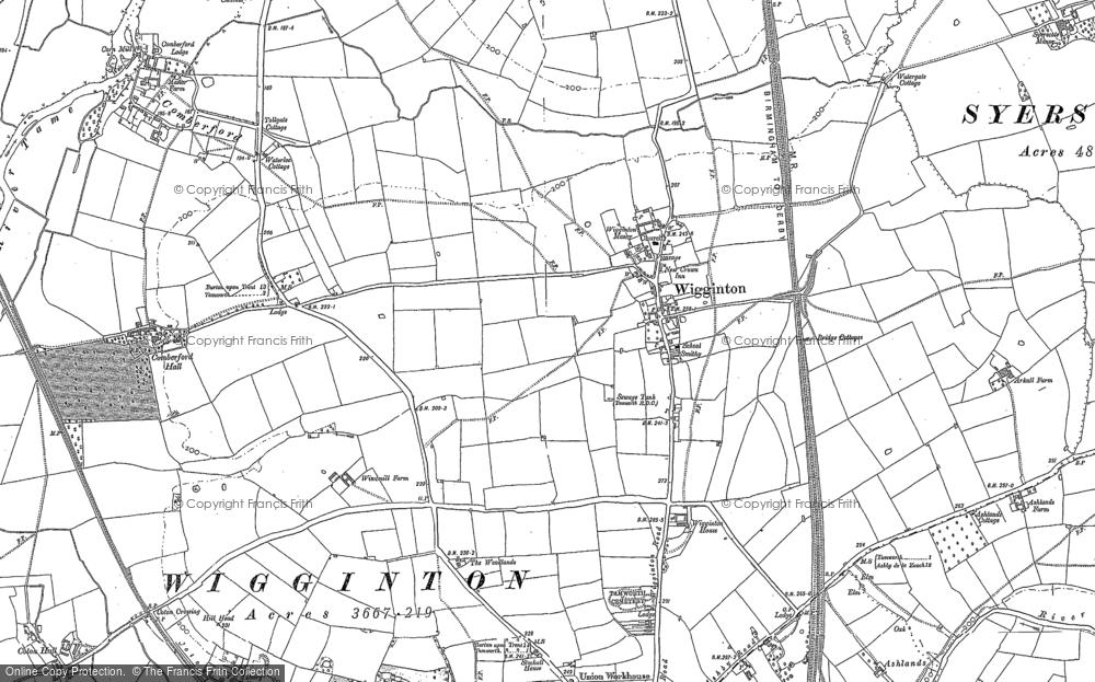 Wigginton, 1900