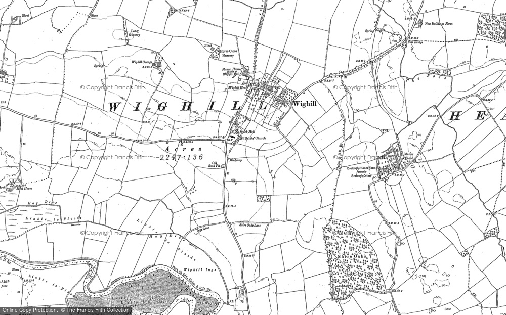 Wighill, 1891