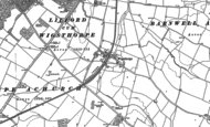 Old Map of Wigsthorpe, 1885 - 1899